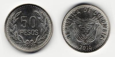 50 pesos 2010