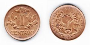 1 сентаво 1967 года