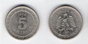 5 сентаво 1906 года