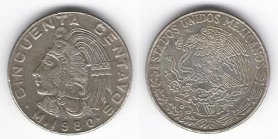 50 сентаво 1980 года