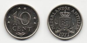 10 центов 1977 года