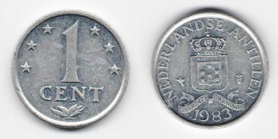 1 цент 1983 года