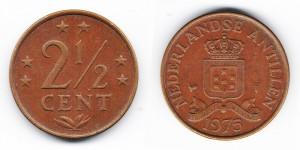 2 1/2 цента 1975 года