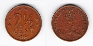 2 1/2 цента 1974 года