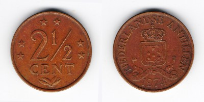 2½ cents 1974