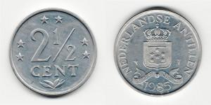 2 1/2 цента 1985 года