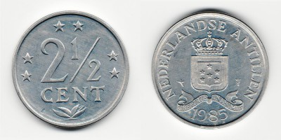 2½ cents 1985