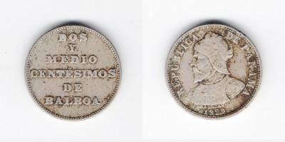 2 сентесимо  1929 года