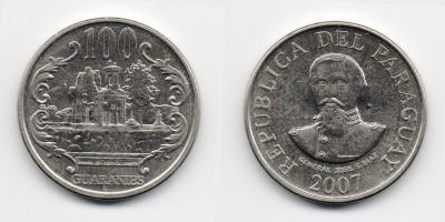 100 guaranies 2007
