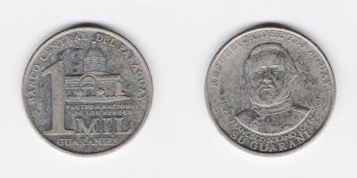 1000 guaranies 2007