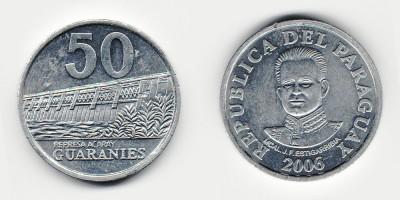 50 guaranies 2006