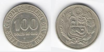 100 солес 1980 года Перу