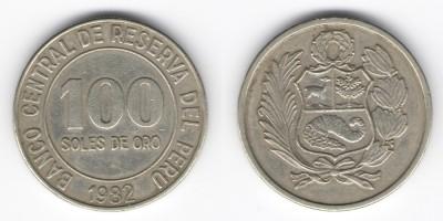 100 солес 1982 года Перу