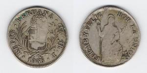 4 реала 1836 года