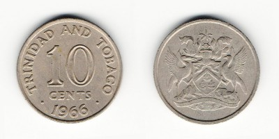 10 центов 1966 года