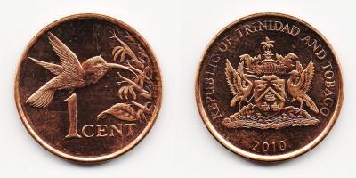 1 цент 2010 года