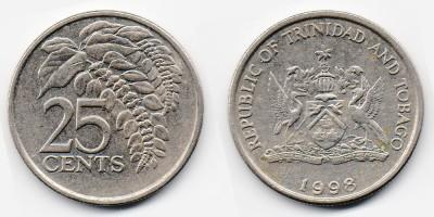 25 центов 1998 года