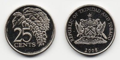 25 центов 2008 года