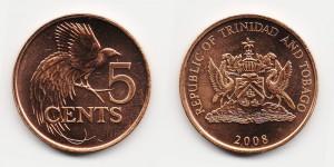 5 центов 2008 года