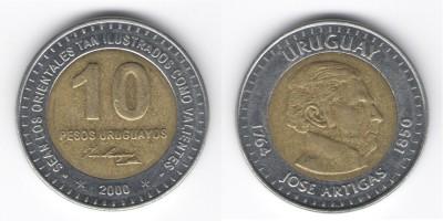 10 pesos 2000