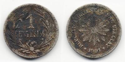 1 centésimo 1901
