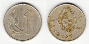 1 песо 1980 года
