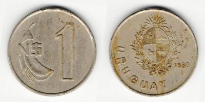 1 new peso 1980