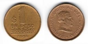 1 песо 1994 года