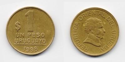 1 peso 1998
