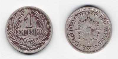 1 centésimo 1909
