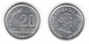 20 сентесимо 1994 год