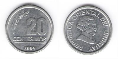 20 centésimos 1994