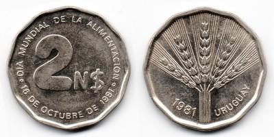2 new pesos 1981