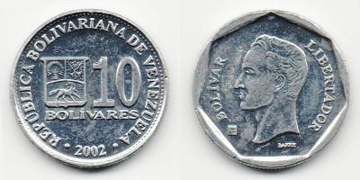 10 боливар 2002 года