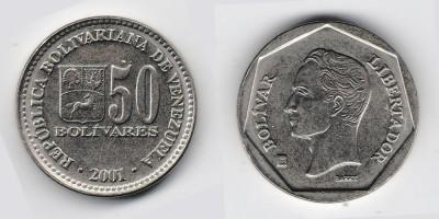 50 bolívares 2001