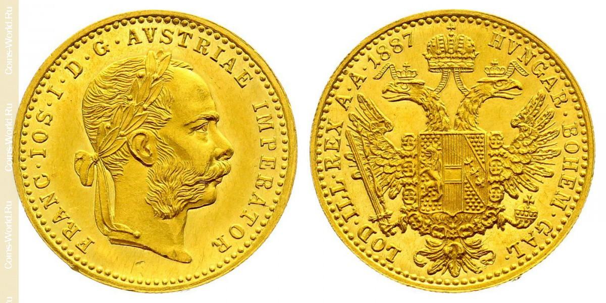 1ducat 1887, Austria