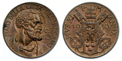 10centesimi 1930