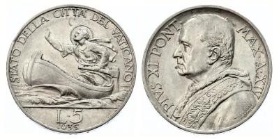 5lire 1935