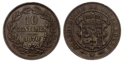 10centimes 1870