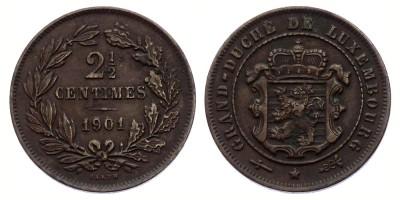 2½centimes 1901