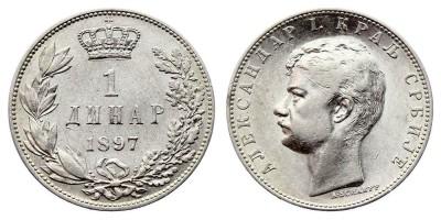 1dinar 1897