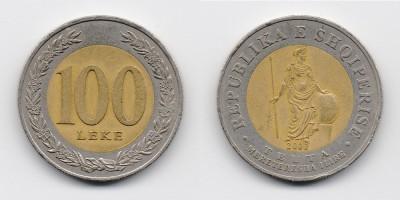 100 lekë 2000