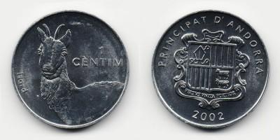 1 cèntim 2002
