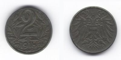 2 hellers 1918