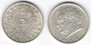 2 шиллинга 1928 год