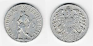 1 шиллинг 1946 года