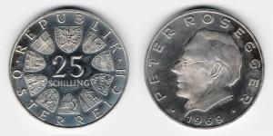 25 шиллингов 1969 года Писатель Петер Розггер