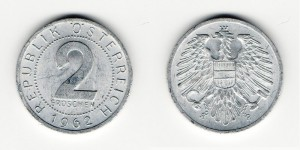 2 гроша 1962 года