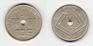 10 сантимов 1938 года