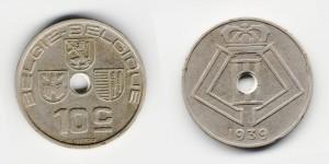 10 сантимов 1939 года